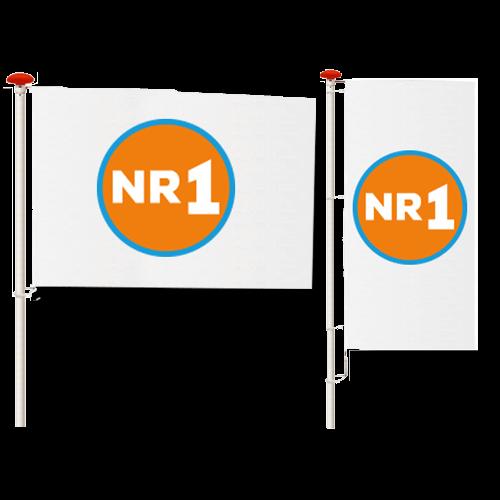 Goedkoop online mastvlaggen bedrukken en bestellen
