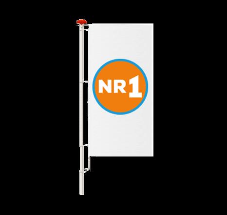 Baniervlaggen / Staande vlaggen bedrukken en bestellen