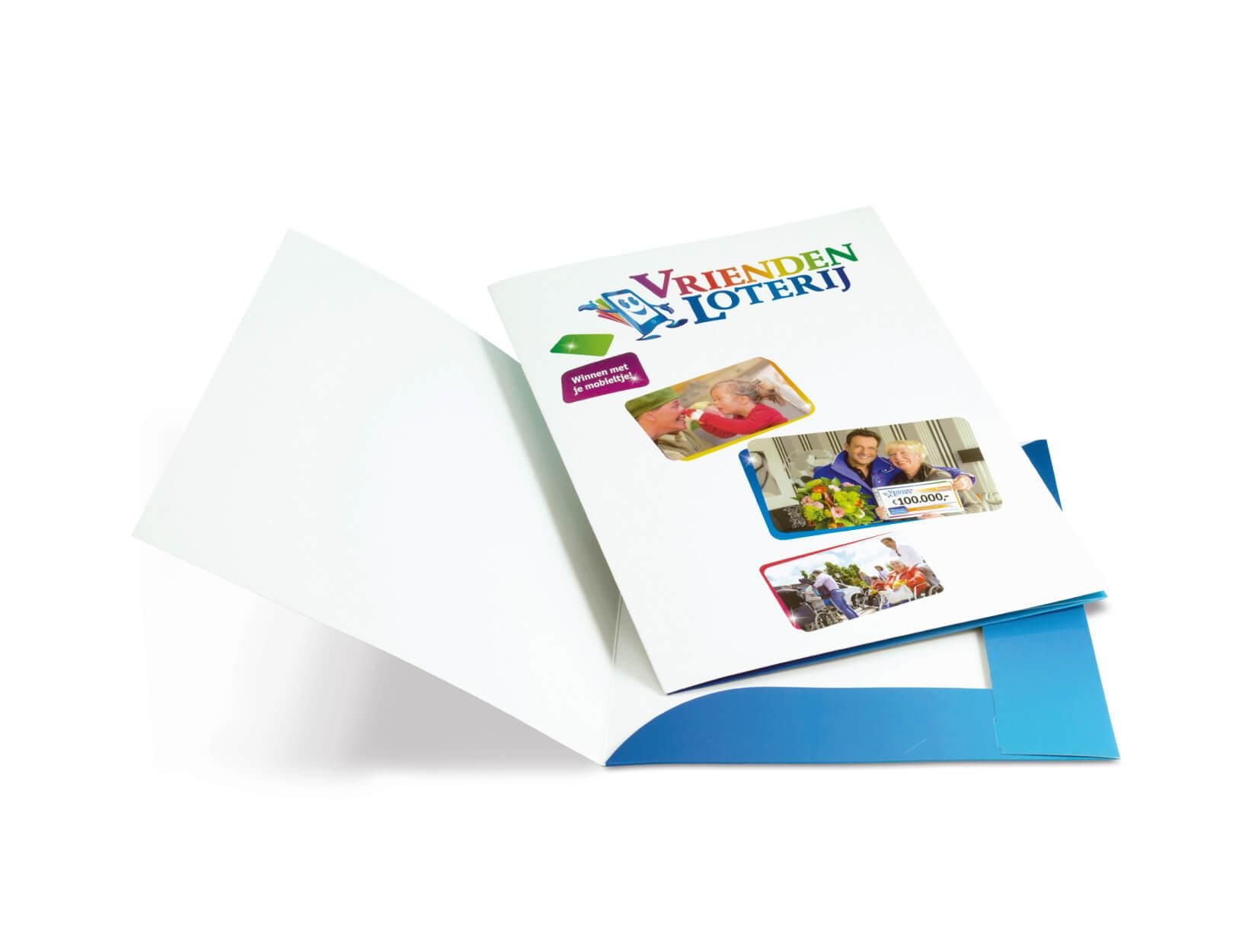 Goedkoop online presentatiemappen drukken en bestellen