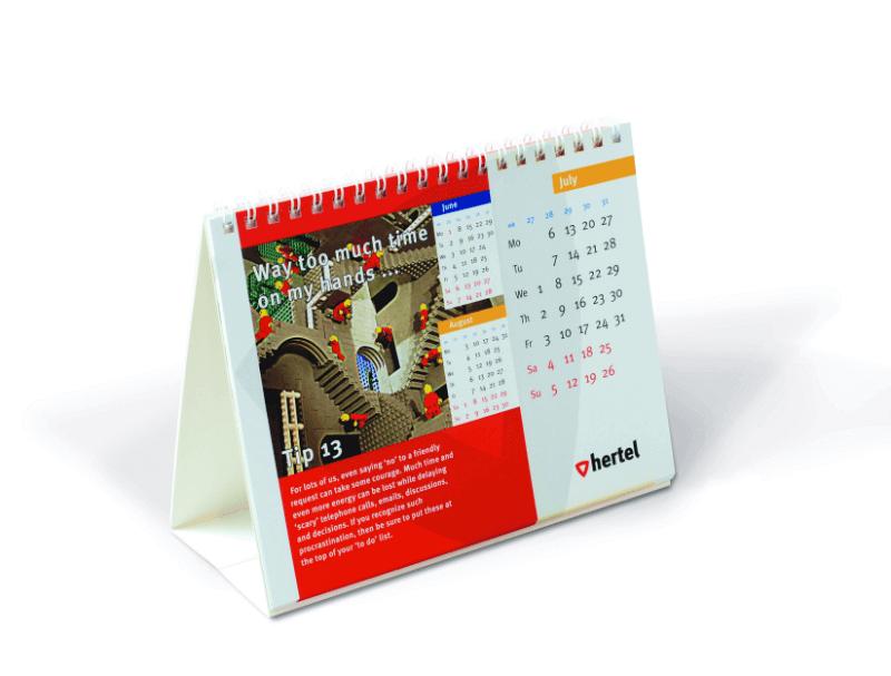 Goedkoop online relatiegeschenken 2018 kalenders bedrukken en bestellen