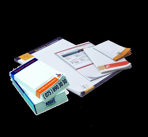 Goedkoop online schrijfblokken en notitieblokken drukken en bestellen met logo of huisstijl