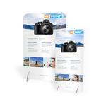 Goedkoop online re-board presentatiewand bedrukken en bestellen