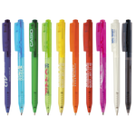 Goedkoop basic balpennen als relatiegeschenk bedrukken en bestellen