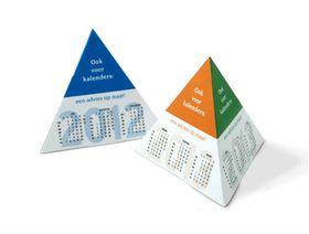 Goedkoop online piramide kalenders 2019 bedrukken en bestellen