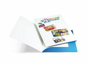 Goedkoop online full-color basic presentiemappen drukken en bestellen