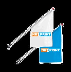 Goedkoop online kioskvlaggen bestellen