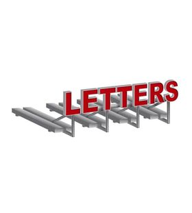 Verlichte doosletters bestellen voor dak/gevel/muur