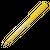 budget pen geel bedrukken