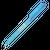 budget pen lichtblauw bedrukken